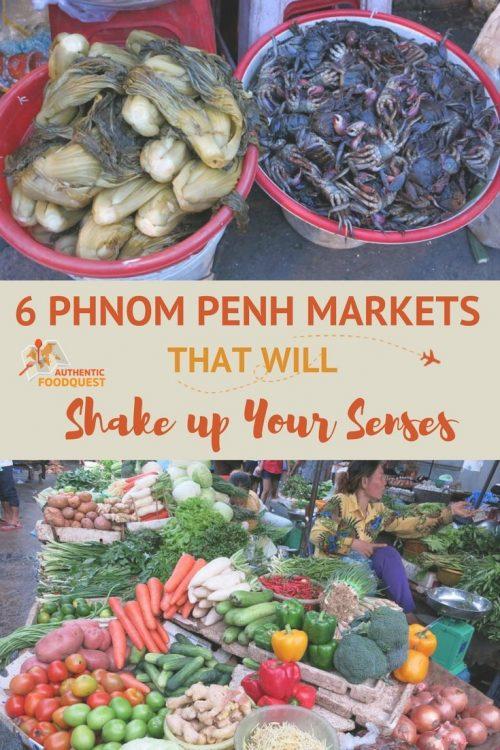 Phnom Penh Market Authentic Food Quest