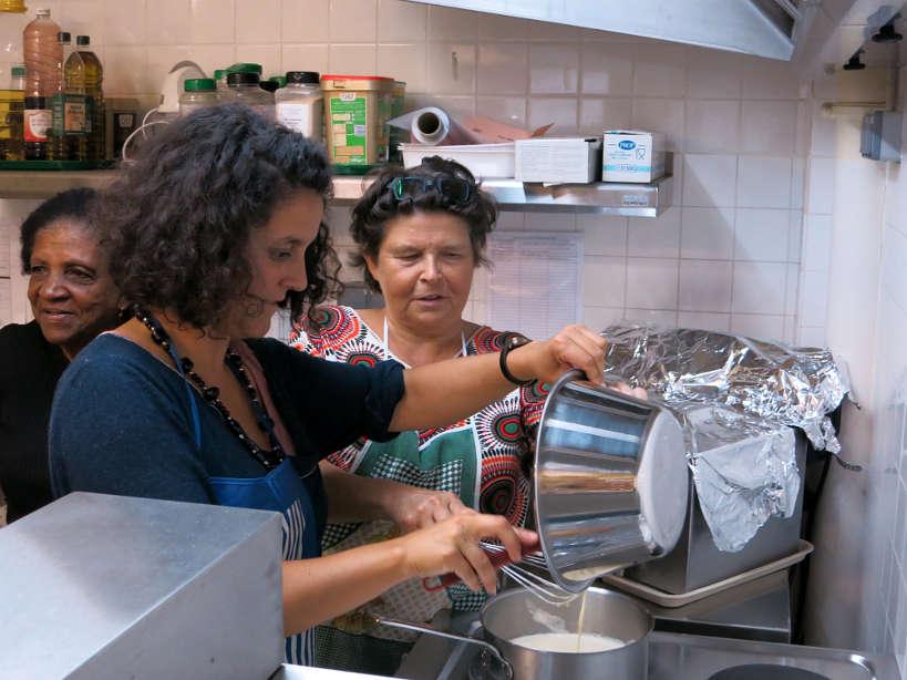 Creme Patissiere Soupe Aux Cailloux Paris Baking Class Authentic Food Quest
