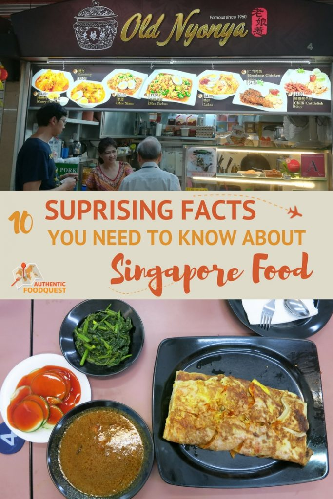 Pinterest 10 facts Singapore Food Authentic Food Quest