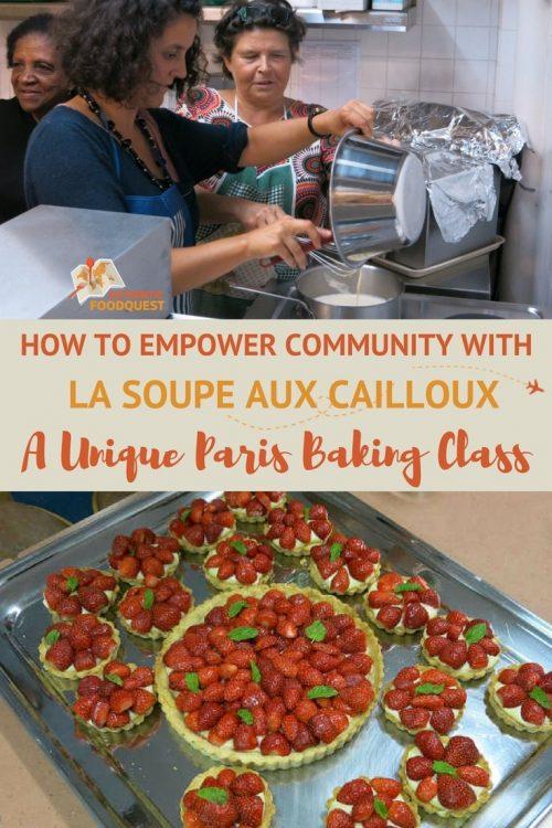 Pinterest La Soupe Aux Cailloux Paris Baking Class Authentic Food Quest