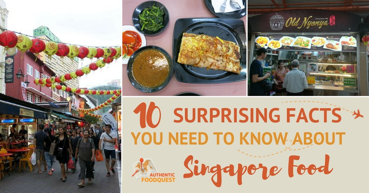 Singapore Food Authentic Food Quest