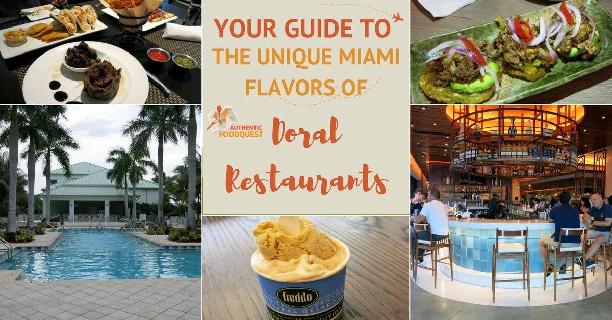 Pinterest Doral Restaurants Authentic Food Quest