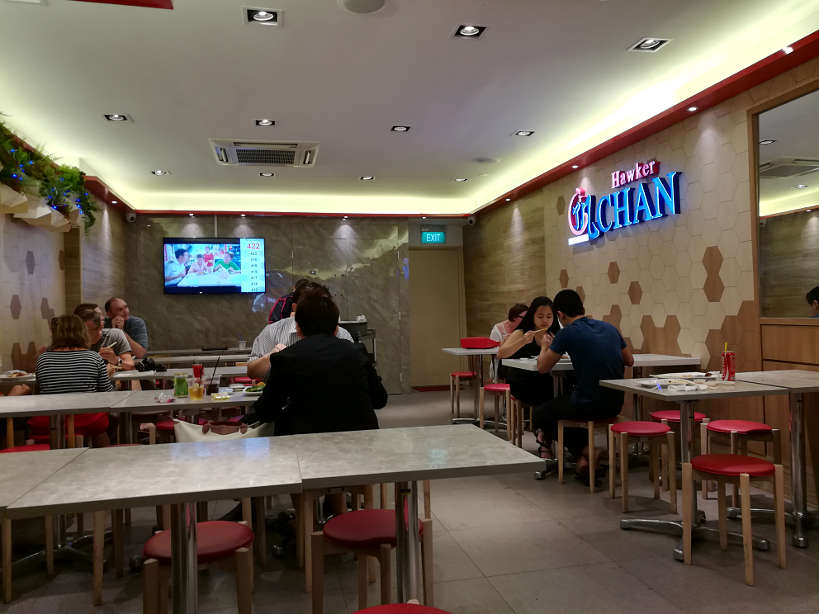 Inside Hawker Chan Michelin Star Restaurant Authentic Food Quest