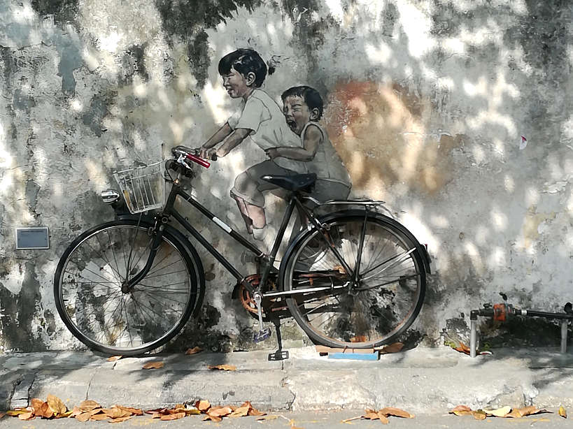 Street Art in Penang, Malay Food by Authentic Food Quest