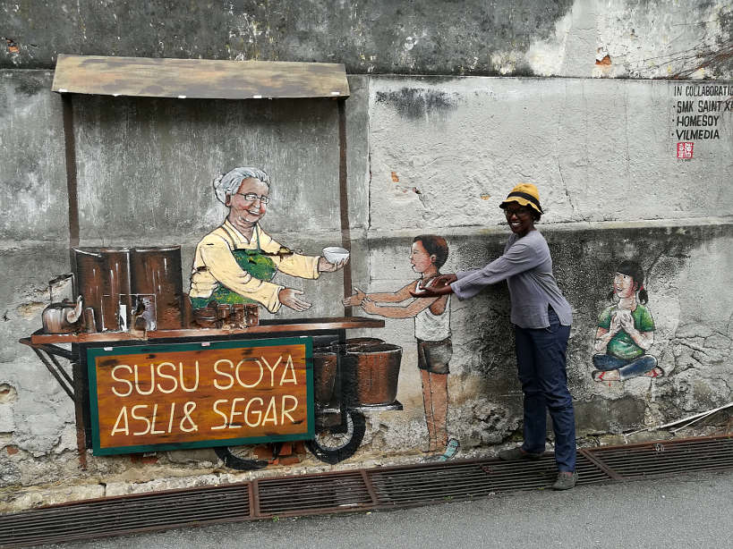 Art on the Streets of Penang Malay Food Authentic Food Quest