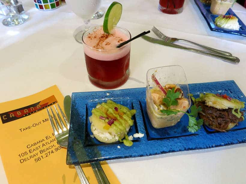 Cabana El Rey Tasting Sampling Floribbean cuisine Authentic Food Quest