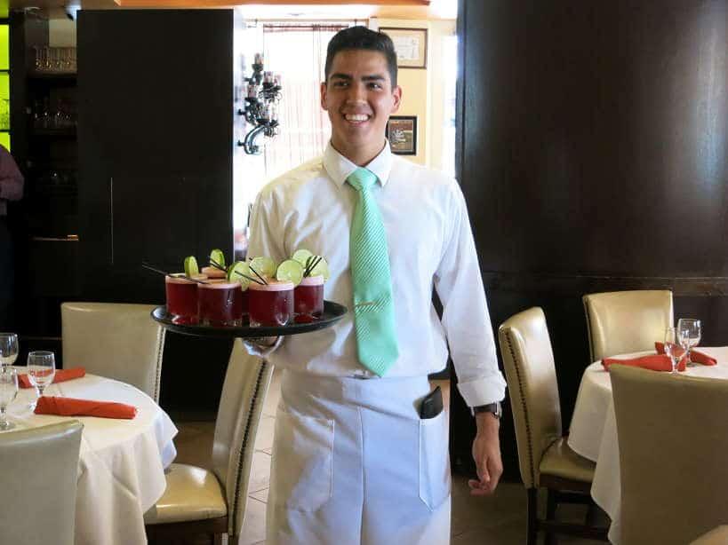 Pisco Sour Cabana El Rey Floribbean cuisine Authentic Food Quest