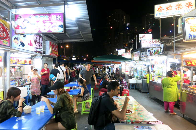 Gurney Drive Hawker Center Penang Food Authentic Food Quest
