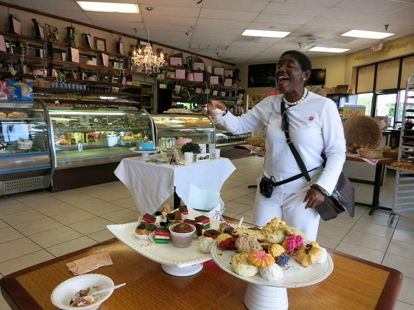 Lori Taste History Culinary Tours Palermo's Bakery Floribbean cuisine Authentic Food Quest