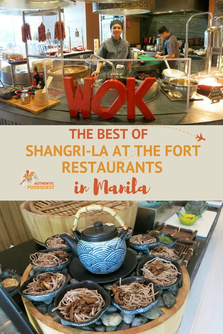 Pinterest Shangri-La at the Fort Restaurants Authentic Food Quest