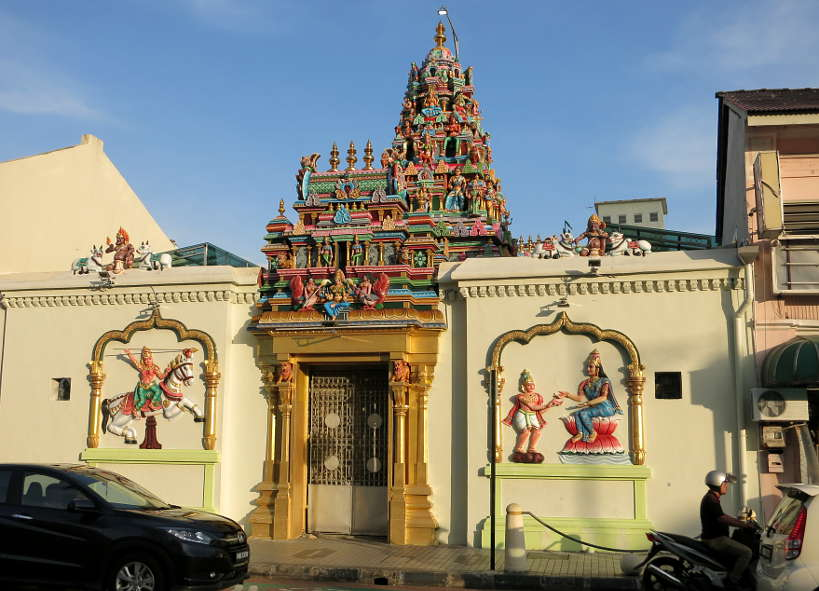 Sri Mahamariamman Temple Penang Food Authentic Food Quest