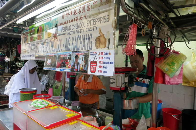 Ais Kachang Stall Penang Famous Food Authentic Food Quest