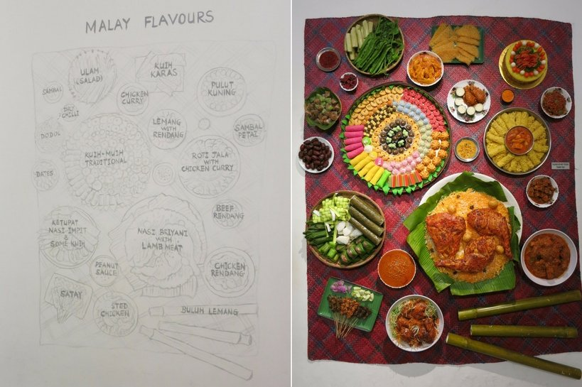 Malay Flavors Food museum Penang Authentic Food Quest
