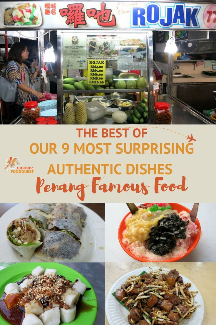Pinterest Penang Famous Food Authentic Food Quest
