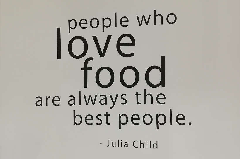Quote Love Food Food museum Penang