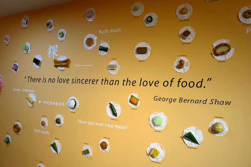 Quote Love Food Food museum Penang Authentic Food Quest