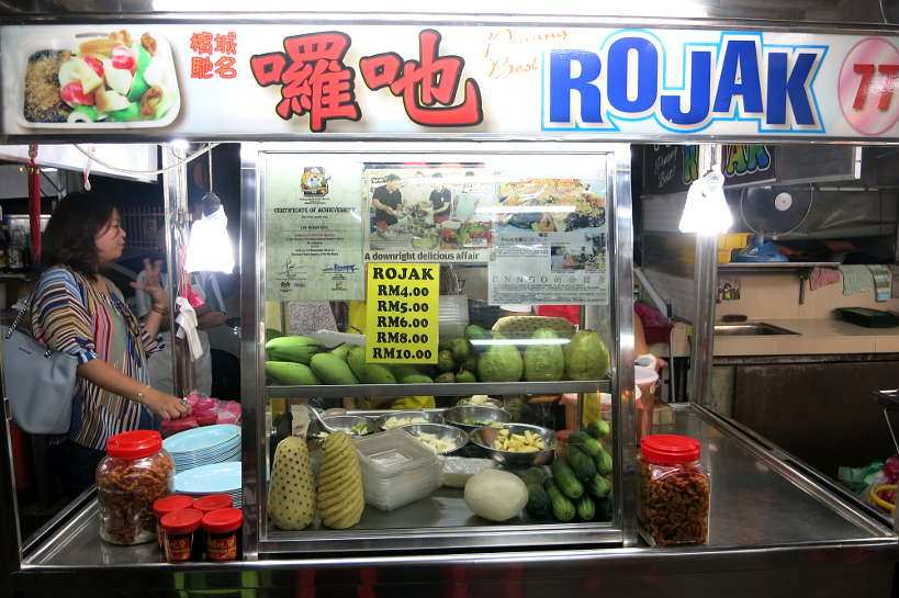 Rojak Stall Penang Famous Food Authentic Food Quest
