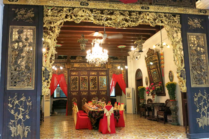 Dinning Table Pinang Peranakan Mansion Nyonya Food Authentic Food Quest