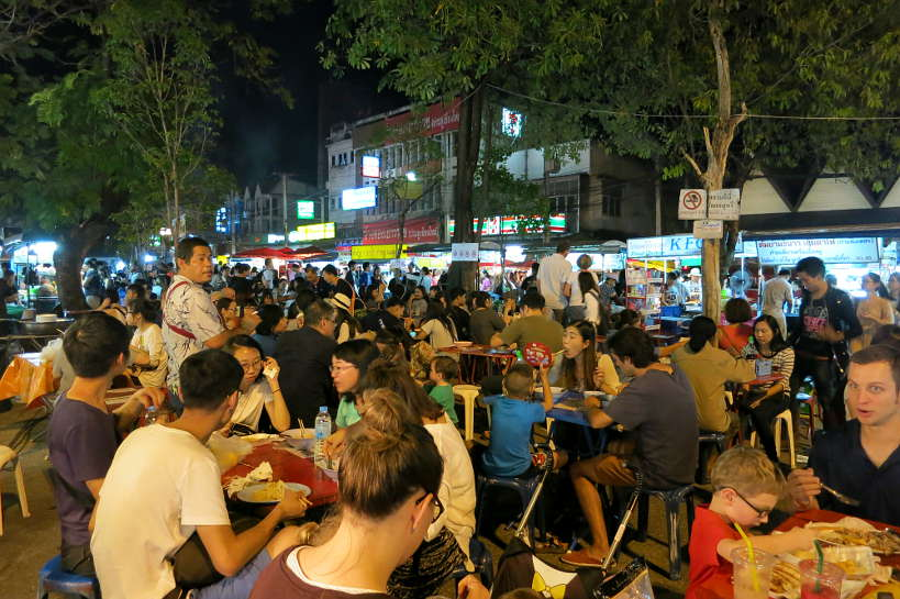 Chiang Mai Gate Saturday Night Market Authentic Food Quest
