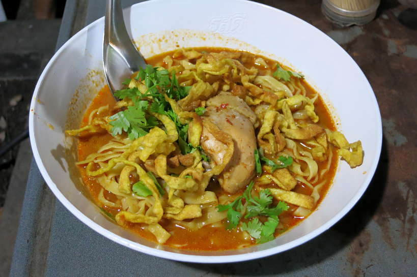 Bowl of Khao Soi Chiang Mai Authentic Food Quest
