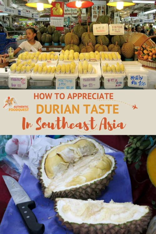 Pinterest Durian Taste Authentic Food Quest