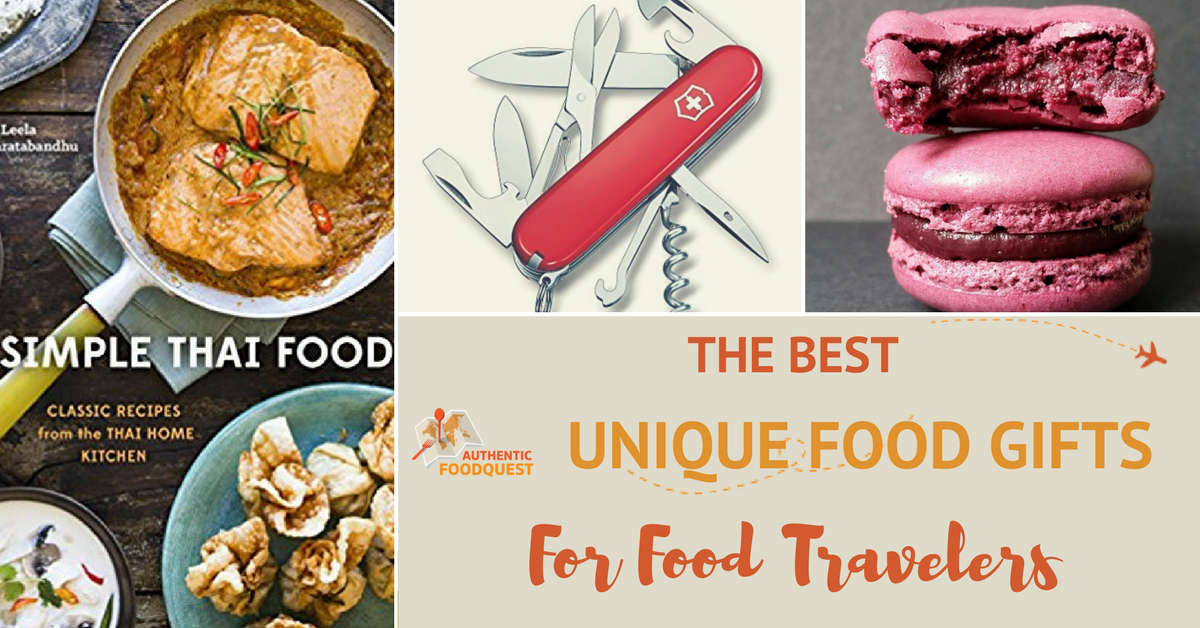 The Best Unique Food Gifts For Travelers