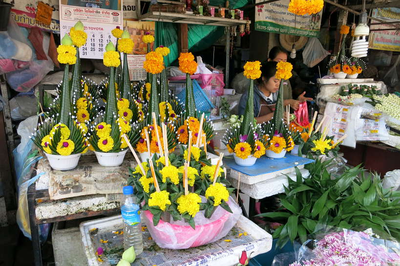 Warorot Flowers Valentine's Day Chiang Mai Authentic Food Quest