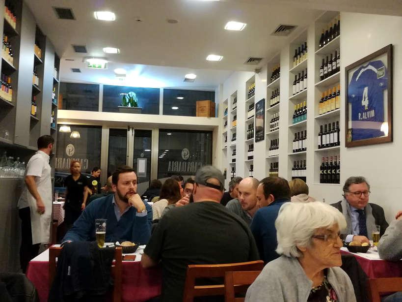Carvoaria Jacto Restaurant Eat Bacalhau in Portugal Lisbon restaurant where locals eat Authentic Food Quest