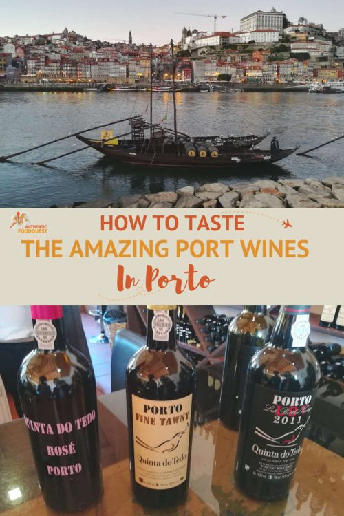 Pinterest Port Tasting Porto Authentic Food Quest