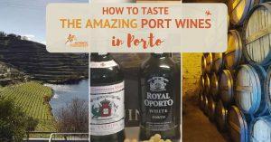 How to Taste the Amazing Port Wines in Porto