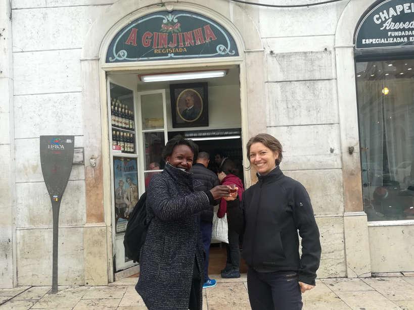 Tasting Ginjinha Lisbon Food Tour Authentic Food Quest