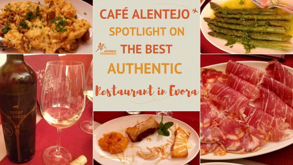 Cafe Alentejo Best Restaurant Evora_Authentic Food Quest