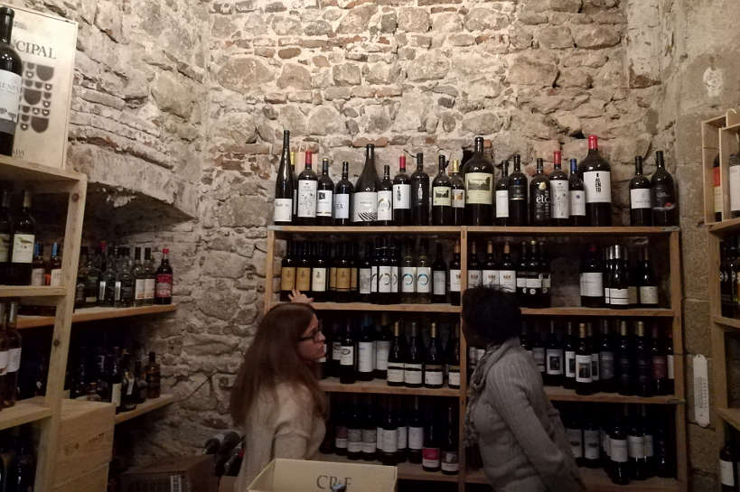 Cellar at CafeAlentejo by Authentic Food Quest