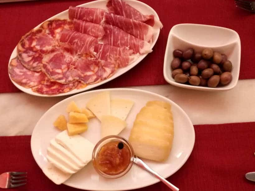 Cheese Plate Cafe Alentejo Evora Authentic Food Quest