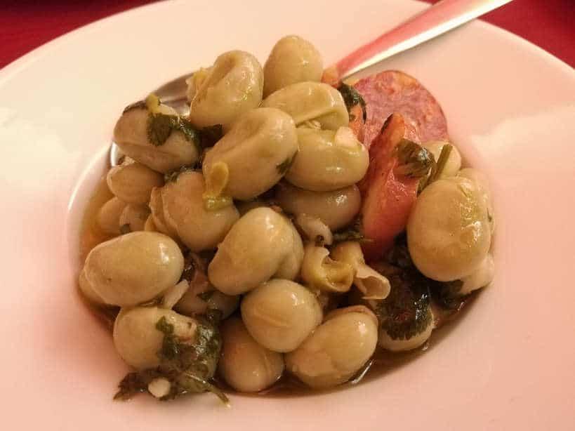 Fava Beans Cafe Alentejo Authentic Food Quest