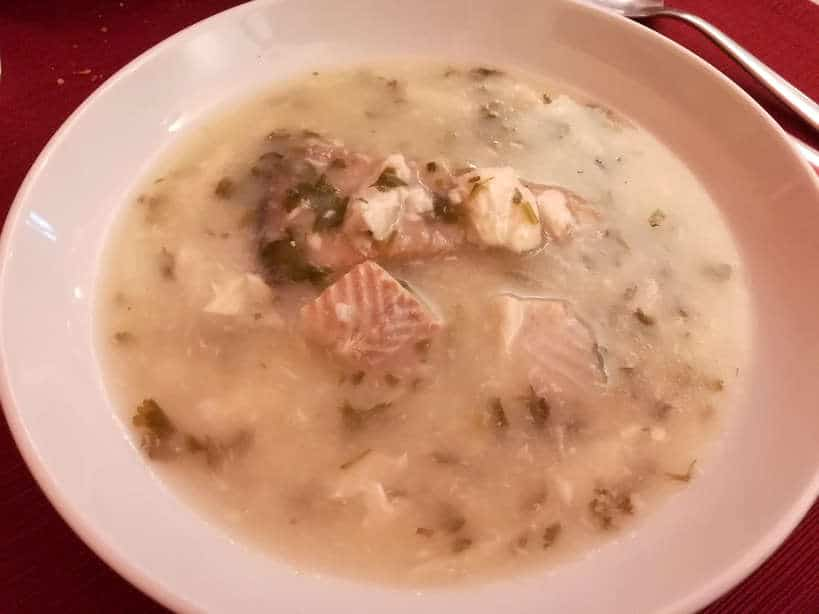 Fish Soup Food at Cafe Alentejo in Evora Authentic Food Quest
