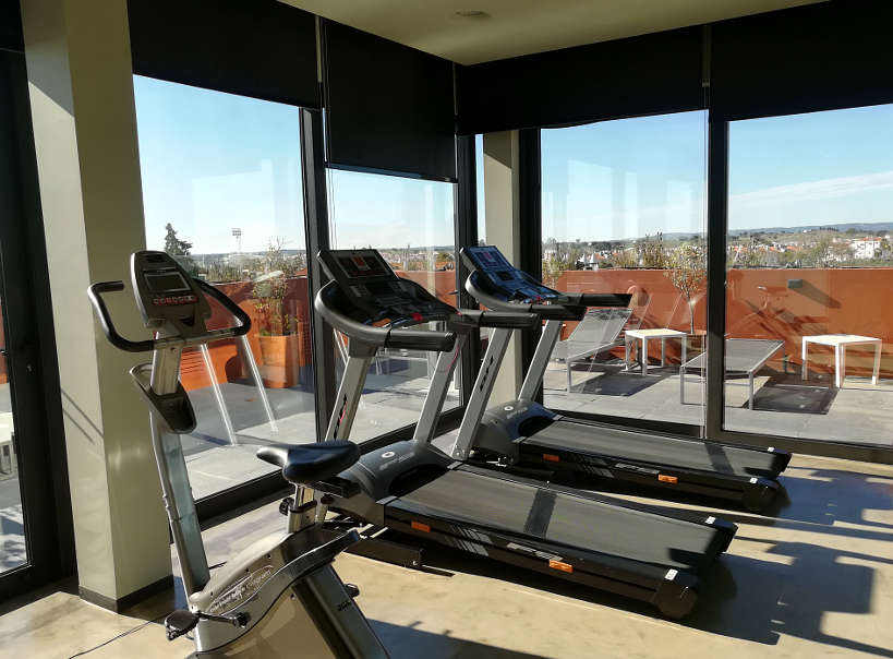 Fitness Center Vitoria Stone Hotel Evora Authentic Food Quest