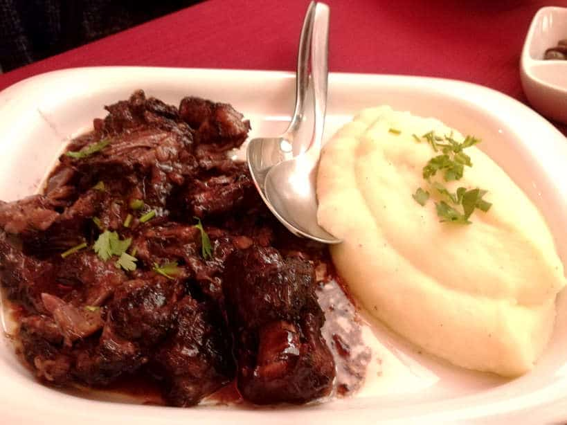 Oxtail at Cafe Alentejo Authentic Food Quest