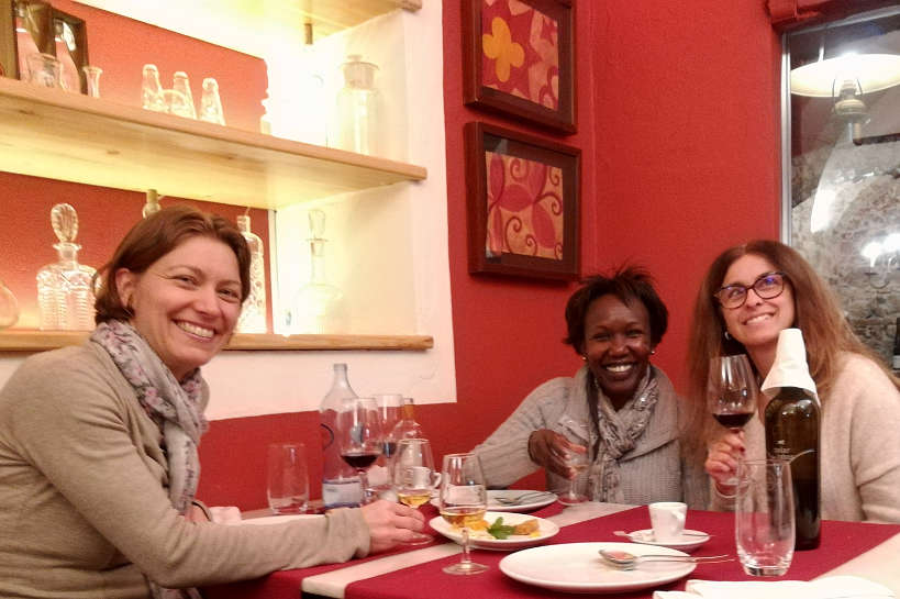 With Rita Cafe Alentejo Evora Authentic Food Quest