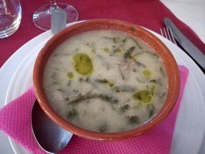Caldo verde soup Braga Food Tour Day Trips From Porto Authentic Food Quest