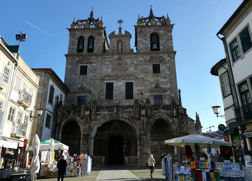 Cathedral of Braga Braga Food Tour Day Trips From Porto Authentic Food Quest