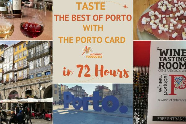 72 Hours in Porto Card Authentic Food Quest