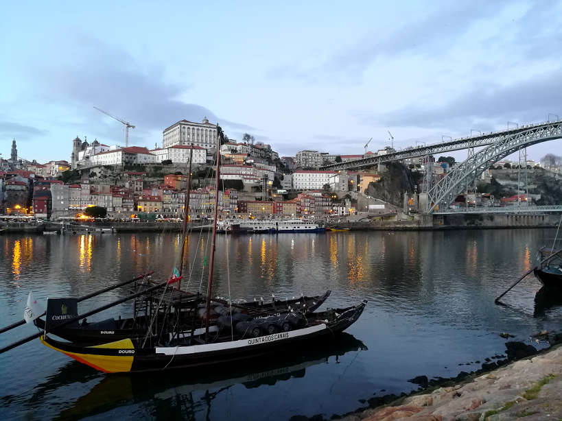 Porto view from Vila Nova de Gaia by Authentic Food Quest