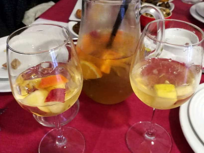 Portuguese Sangria in Braga Food Tours for Day Trips From Porto by Authentic Food Quest