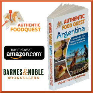 Authentic Food Quest Argentina Book