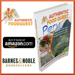 Authentic Food Quest Peru Book
