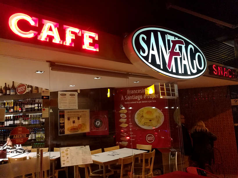 Cafe Santiago by Authentic Food Quest one of the best places to eat in Porto