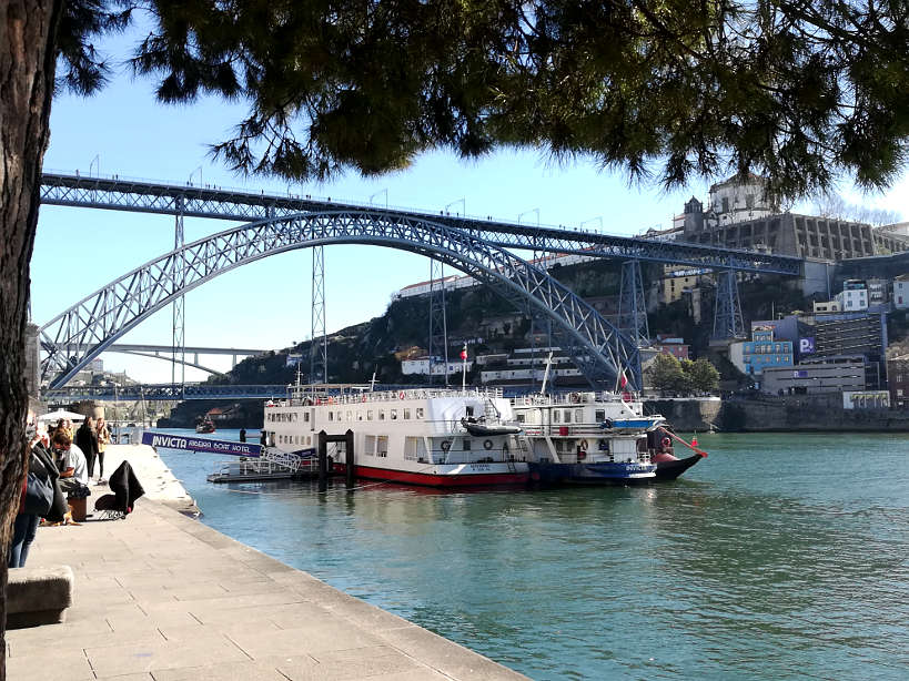 Dom Luís I Bridge From Ribeira Porto Walking Tour Authentic Food Quest