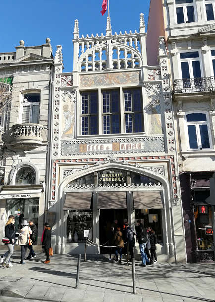 Livraria Lello Porto Walking Tour Authentic Food Quest