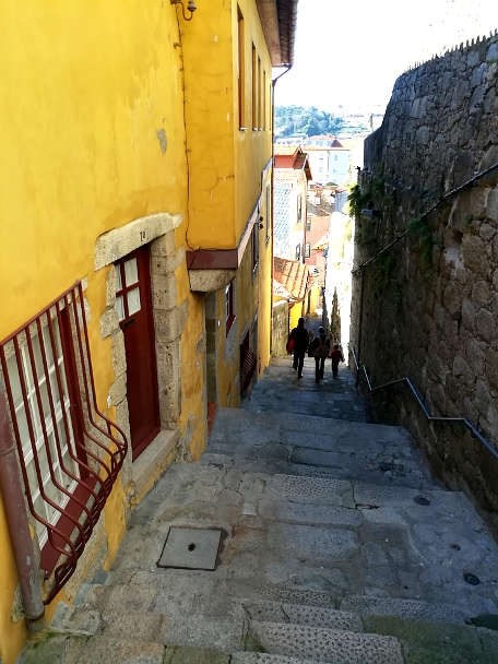 Narrow Staircases Porto Walking Tour Authentic Food Quest